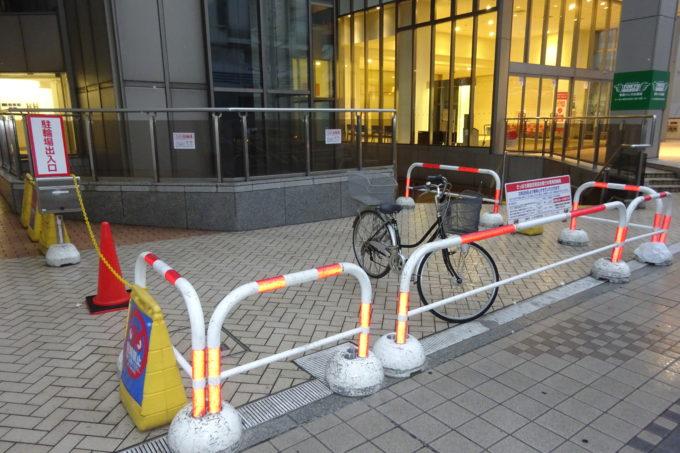 東急百貨店さっぽろ店 自転車専用駐輪場