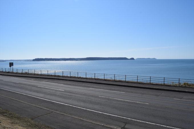 厚岸望洋台から国泰寺やバラサン岬、愛冠岬、子野日公園などがある湖南地区