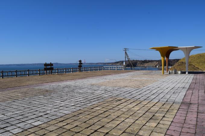 厚岸望洋台の展望スペース