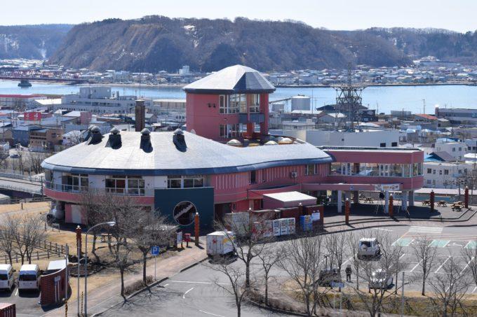 牡蠣の見える丘からの道の駅厚岸グルメパーク