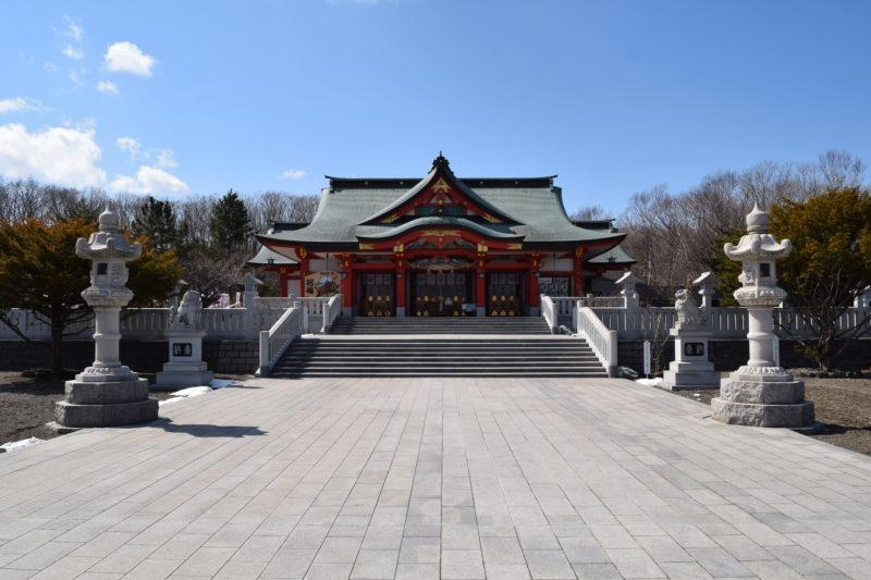 樽前山神社の本宮