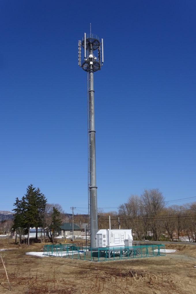 携帯電話基地局の電波塔