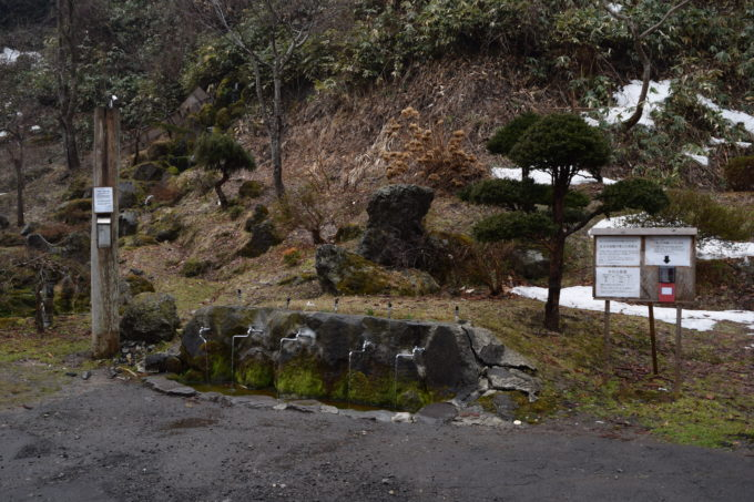 ヤクモ飲料水汲み場