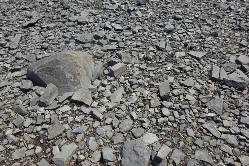 大小様々な石