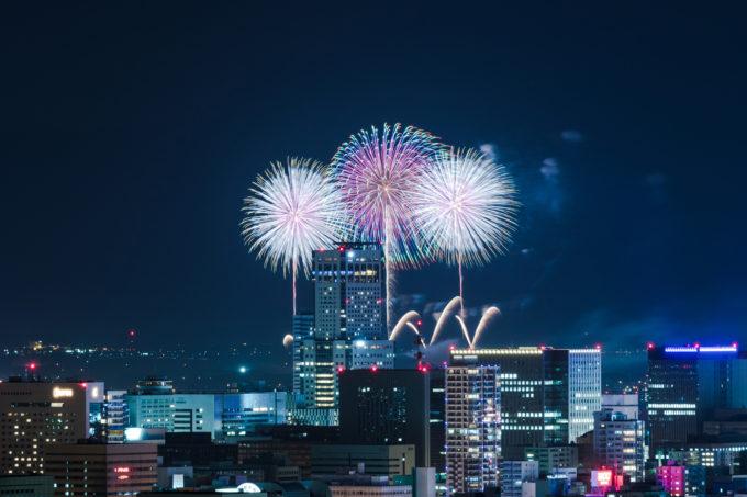 札幌市の花火大会