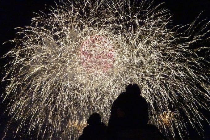 たきの冬花火