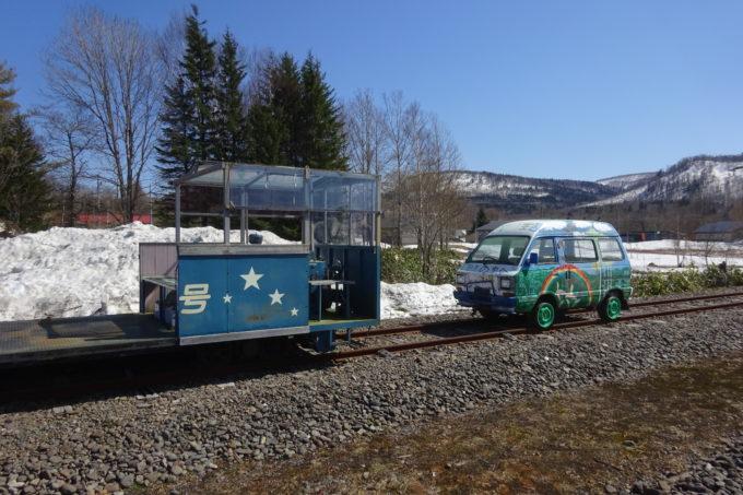 旧トロッコ車両