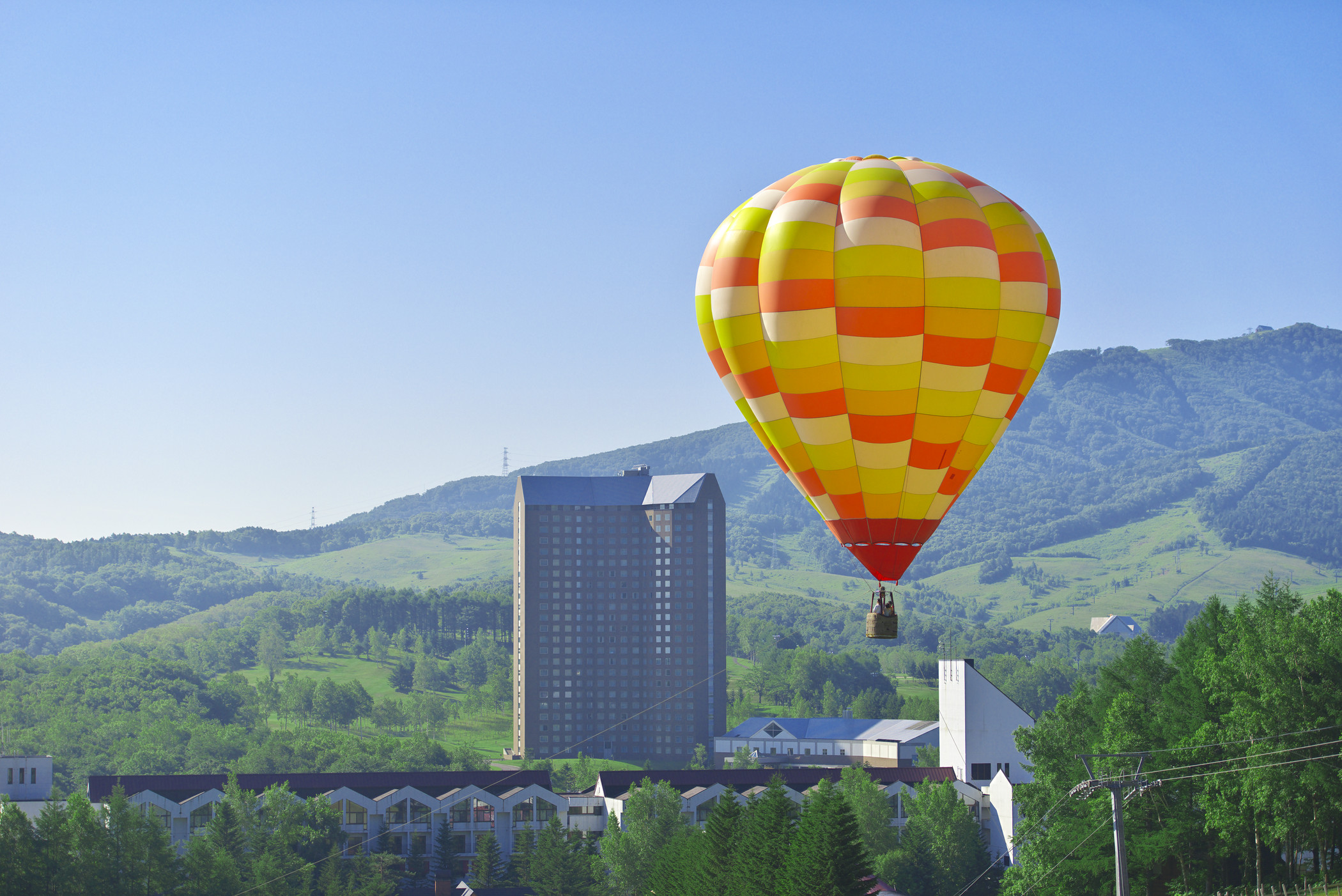 北海道の熱気球