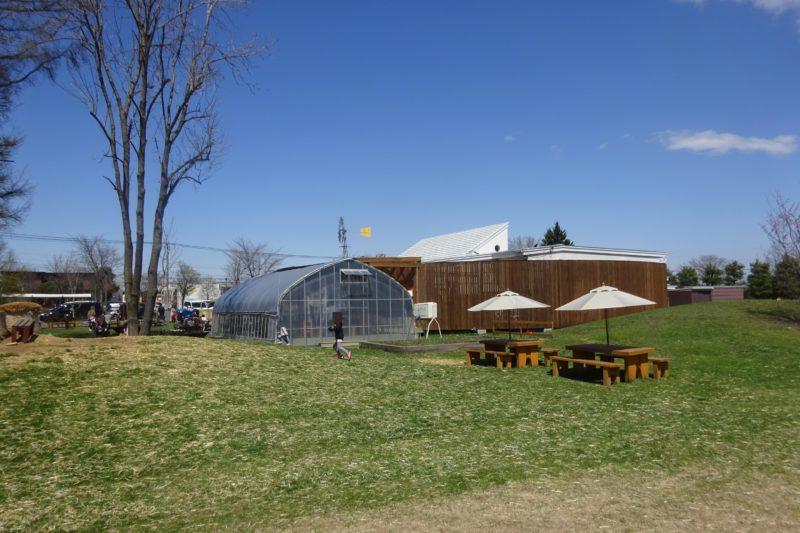 麦音の庭・小麦畑