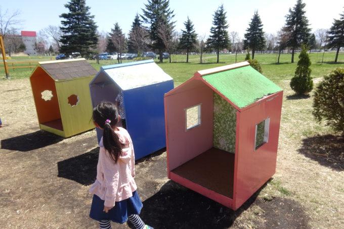 麦音の庭にある小さな家