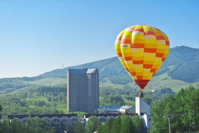 ルスツリゾート熱気球
