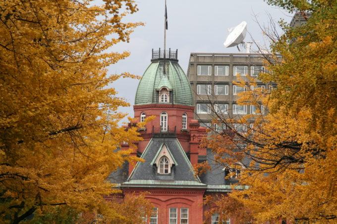 北海道庁旧本庁舎の紅葉