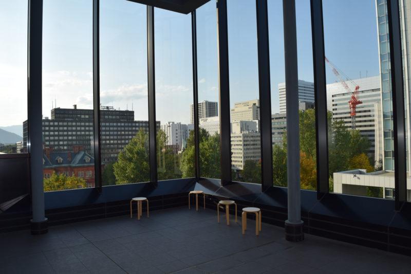 赤れんがテラス眺望ギャラリー「テラス計画」