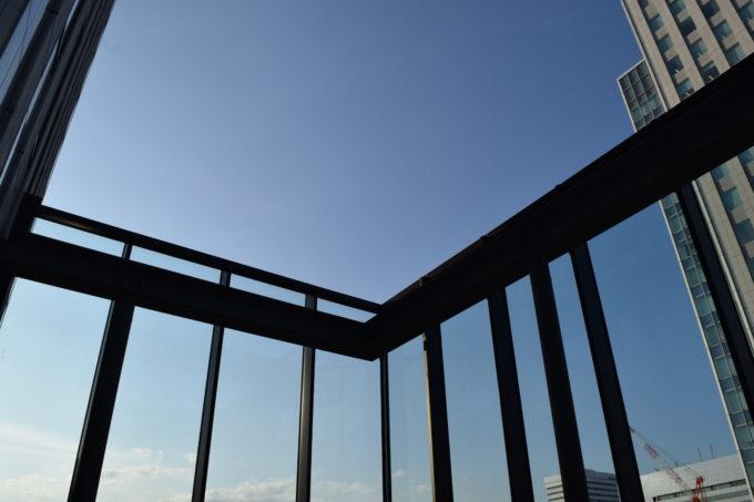 札幌中心部の空