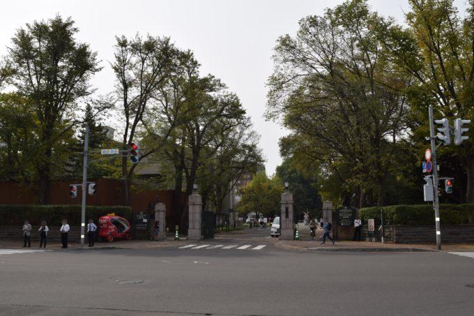 北海道大学北大正門