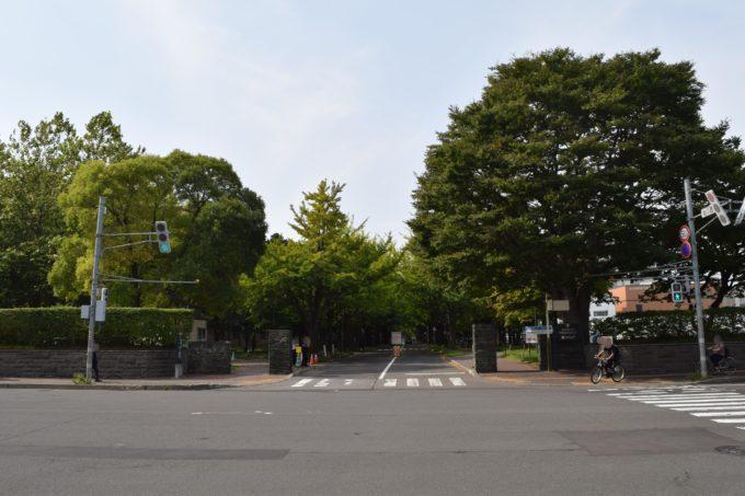 北海道大学北13条門