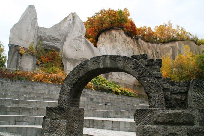 石山緑地の紅葉