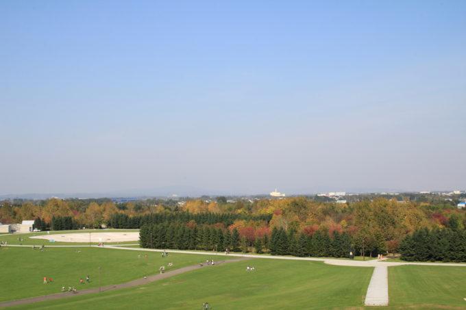 モエレ沼公園の紅葉