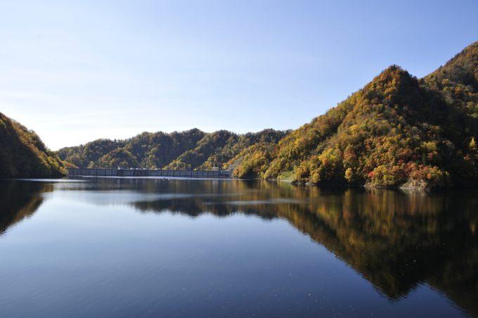 さっぽろ湖第一展望台の紅葉