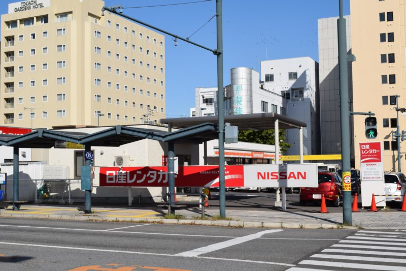 日産レンタカー帯広駅前店