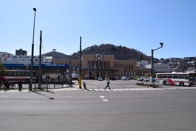 JR小樽駅の周辺地図・構内図