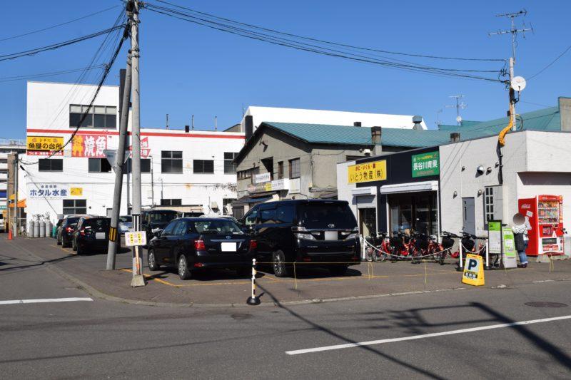 札幌場外市場第3駐車場