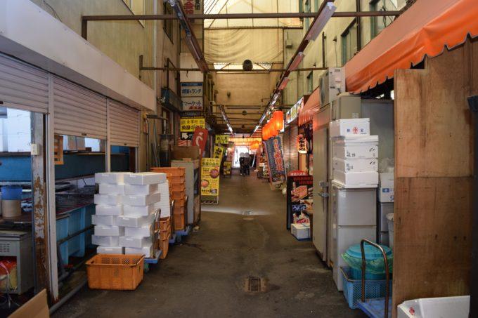札幌場外市場ブロック建物内