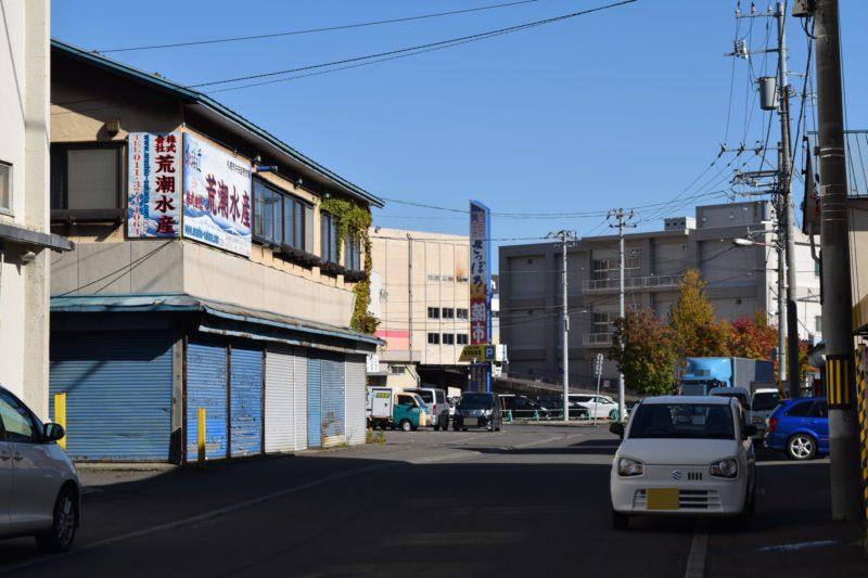 札幌場外市場からのさっぽろ朝市