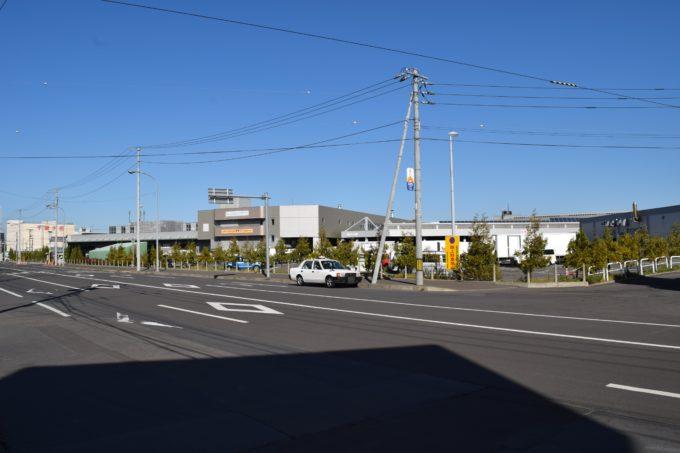 札幌市中央卸売市場前のタクシー待機エリア