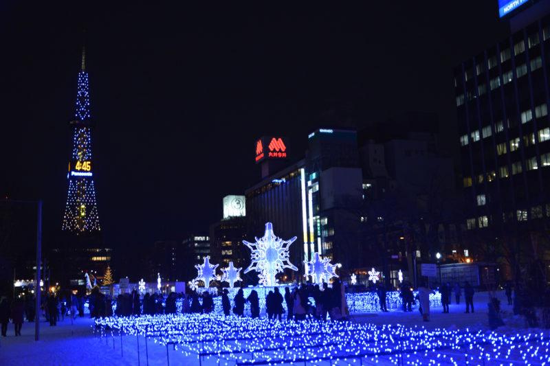 札幌市のクリスマスイベント