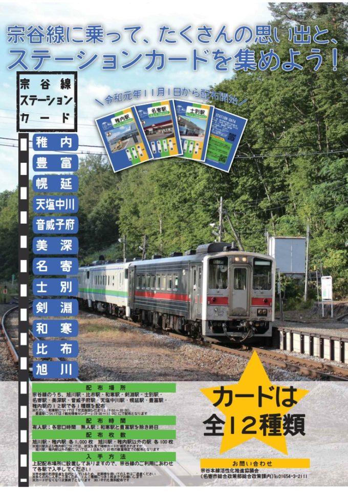 宗谷線駅カード(宗谷線ステーションカード)