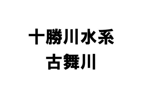 古舞川(十勝川水系)の河川ライブカメラ一覧