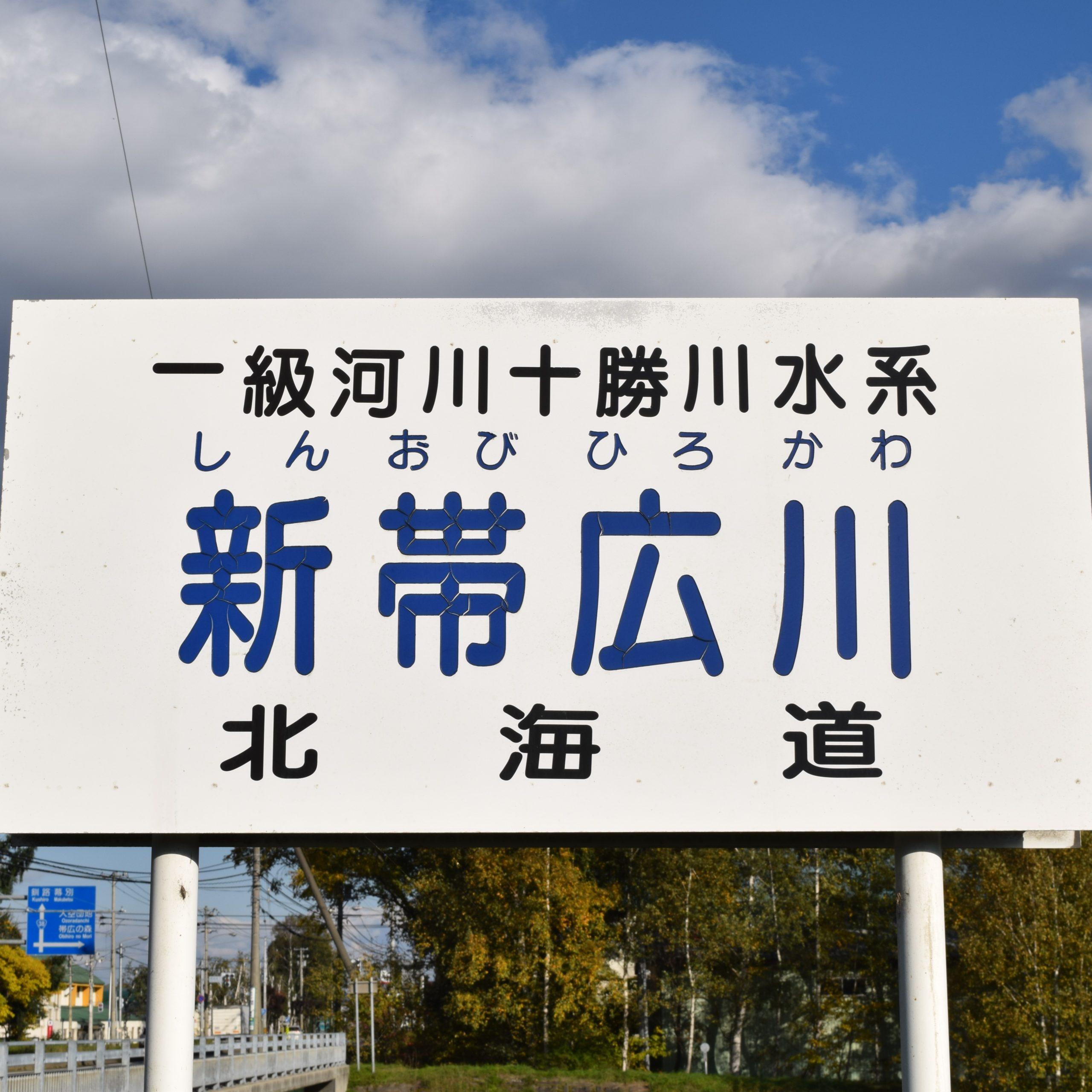 新帯広川(十勝川水系)の河川ライブカメラ一覧